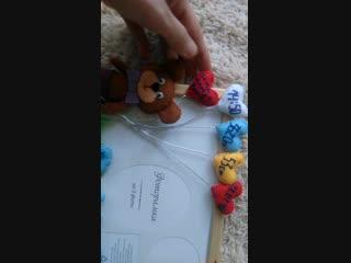 Фоторамка с детскими метриками