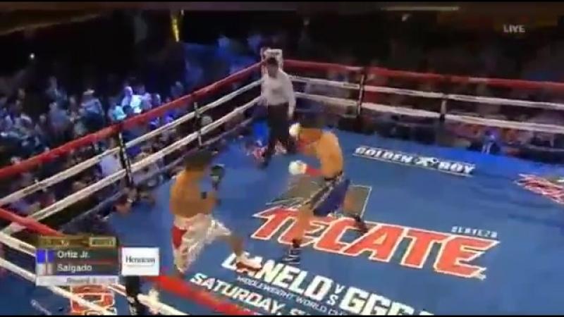 Верджил Ортис vs Хуан Карлос Сальгадо Vergil Ortiz Jr vs Juan Carlos Salgado 23 06 2018