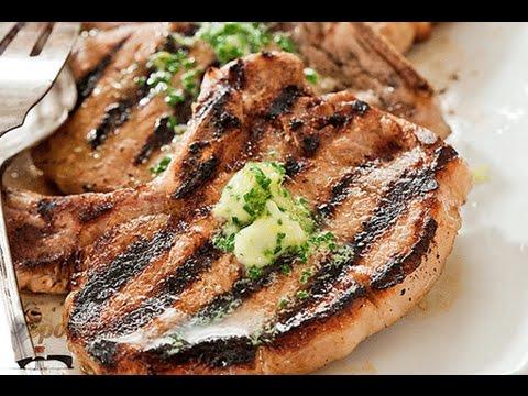 Свинина на гриле с кленово-ромовым соусом от Джейми Оливера и Фелицитас Писарро