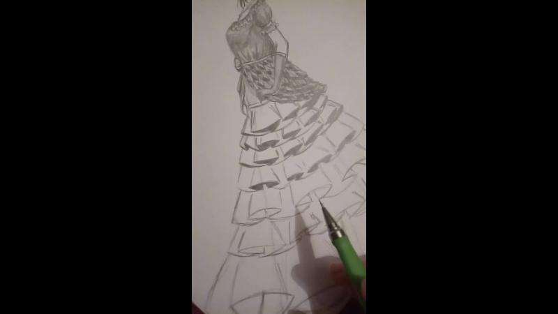 рисую детализированный реквест карандашом
