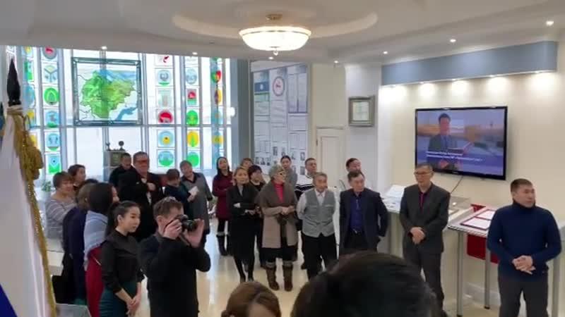 Встреча общественников Хангаласского улуса с зампредом ОС РФ. 16.01.2019