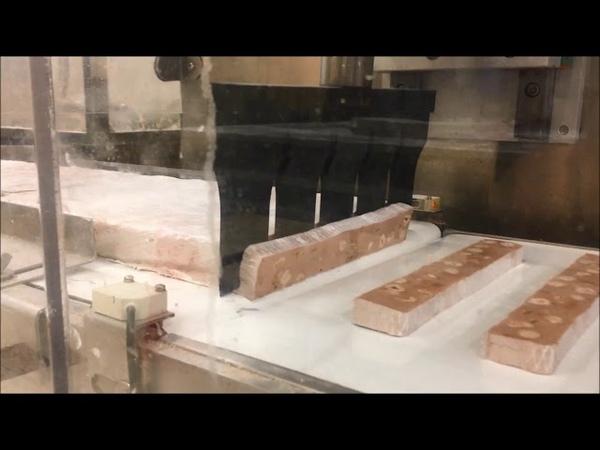 Australian Nougat / Koz helvası Cutting - UFM3500 Ultrasonic Food Knife
