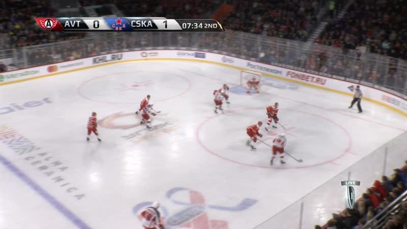 KHL 2018-2019. Avtomobilist – CSKA 04.09 17.00 часть 02