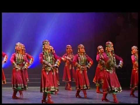 Mongolian Dance - Young Girls Shawuerdeng 少女沙吾尔登