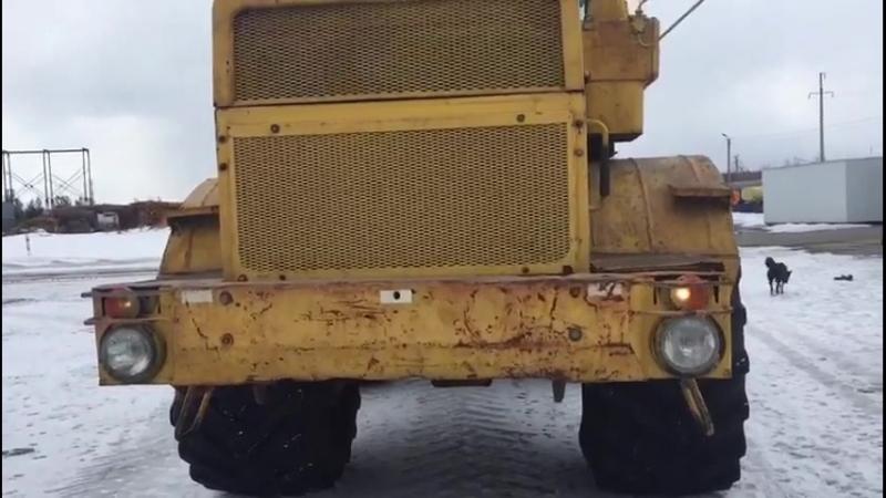 Трактор К-701 Кировец