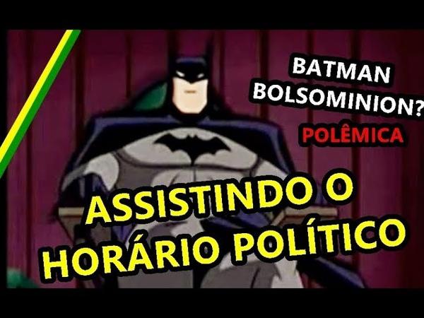 BATMAN FALASTRÃO DECLARA APOIO A BOLSONARO E DETONA OS OUTROS CANDIDATOS