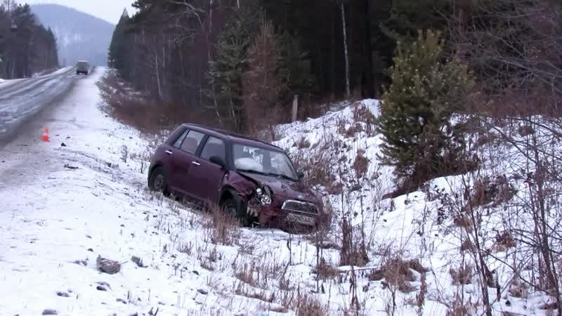 Столкновение 3 автомобилей в Саткинском районе