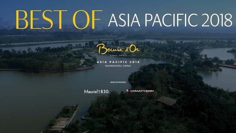 Bocuse d'Or Asia Pacific 2018 Best Of