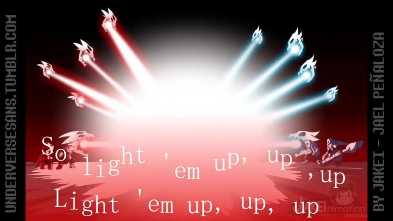 Sans VS Cross Chara ( Underverse AMV ) Fall out Boy - Light Em Up Rock Remix by Joseph Carranza (httpsteump4.com)