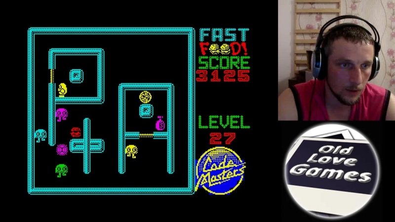 Fast Food - 1 /8 - Fast Food! (ZX-Spectrum)
