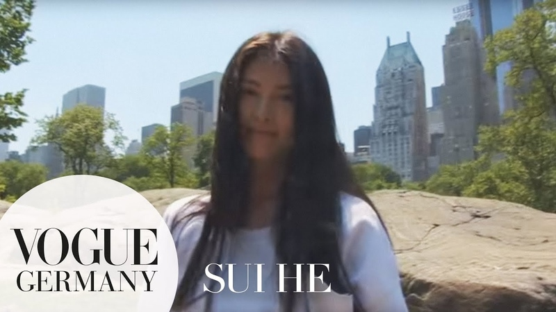 Model Sui He Follow me around in New York | NYC FMA | VOGUE Interview