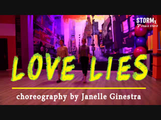 """Lera t. & nc.a   khalid, normani - """"love lies""""   dance cover   choreography by janelle ginestra"""