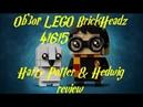 LEGO Harry Potter Hedwig 41615 Brickheadz Обзор/REVIEW