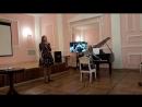 Полина Кохнович Светлана Швырова Выступление в библиотеке 1