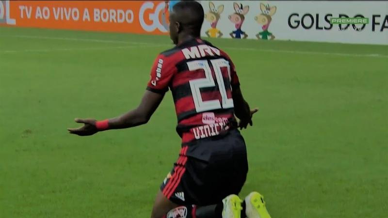 Vinícius Júnior vs Fluminense HD 1080i - Campeonato Brasileiro (07/06/18)