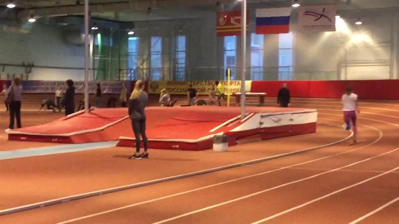 Тренировочный отрезок 150 м перед СЗФО