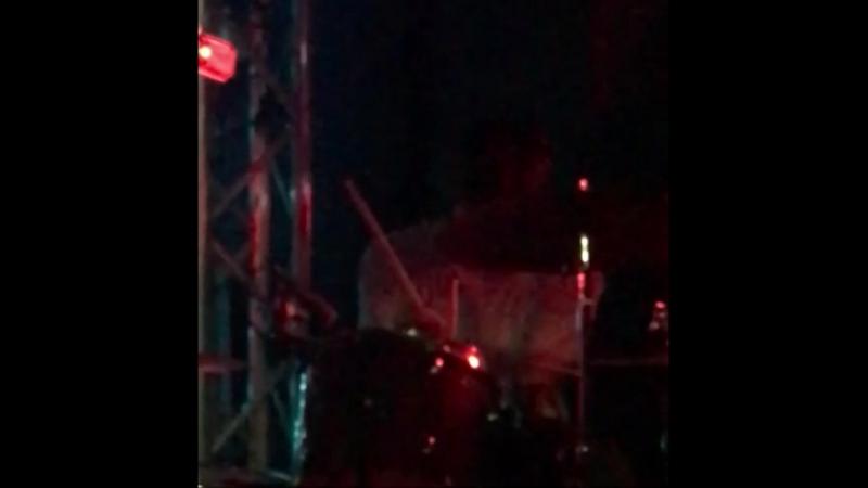 Charlie Heaton on drums