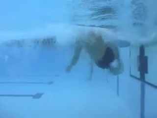 Kaio almeida - butterfly - (50m) underwater side view