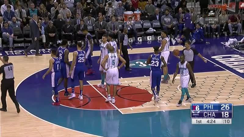 Philadelphia 76ers - Charlotte Hornets
