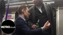British man goes on racist rant at polish man for drinking on train |