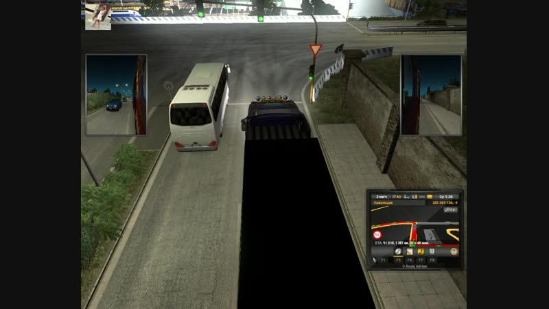 84 - Euro Truck Simulator 2 - Ольга Дальнобоищик - Напроч Бухая выехала!
