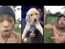 XXXtentacion Gets Chased By His New Puppy