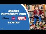 Backstage photoshoot kari KIDS / Disney / Marvel