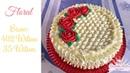 Confeitando bolo c flores e 402 Wilton
