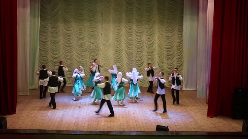 Еврейский танец- НК ансамбль танца РОСИЧ УГСВУ