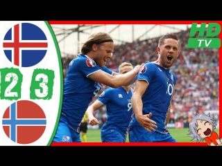 Iceland vs Norway 2 - 3 All Goals Highlights Friendly Match 2.06.2018
