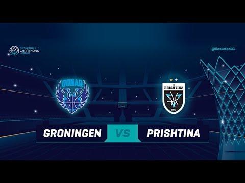 Donar Groningen v Z Mobile Prishtina - Full Game - Basketball Champions League 2018-19