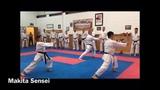 JKS Honbu dojo instructor Makita Sensei Shotokan karate kata Gojushiho Dai