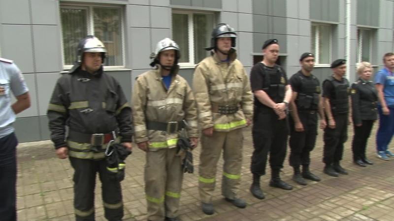 2018-05-23 - Противопожарные учения в суде (Лобня)