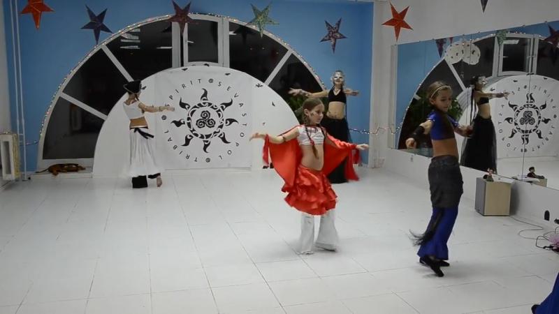 Tribal-Party Созвездие октябрь 2013 @ спонтанная импровизация детской группы STS