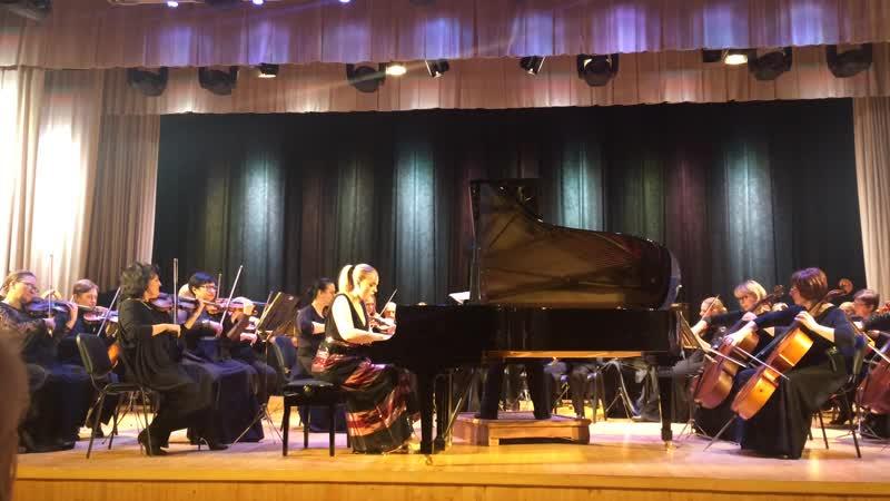 Липецкий симфонический оркестр солистка Анастасия Максюта США
