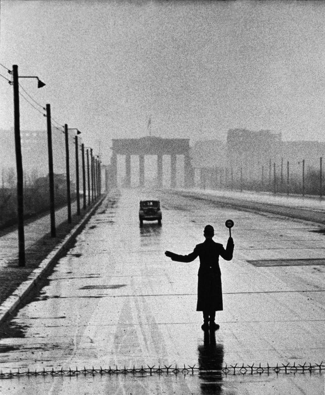 Западный сектор Восточного Берлина, 1953 год.