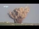 Война в Сирии. ВКС наносят удары по позициям террористов