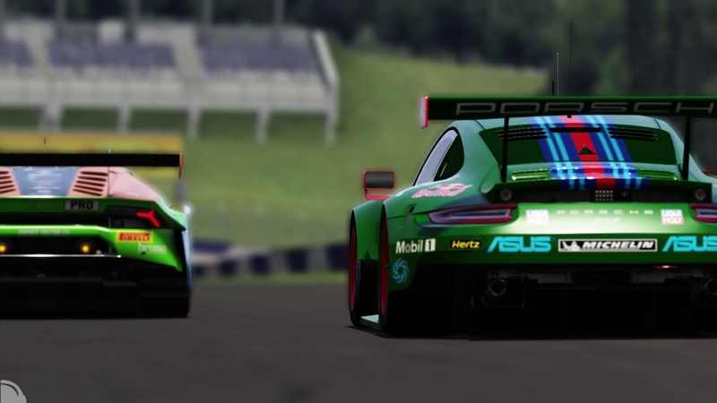 First Laps Action @ Red Bull Ring WEC 2018 (clip) Assetto Corsa
