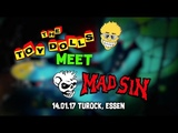 The Toy Dolls meet Mad Sin Live in Essen 14.01.17 Glenda and the Test-tube Baby.