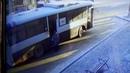 Наезд на женщину автобусом маршрута номер 80 на ост ул К Либкнехта в г Иркутск