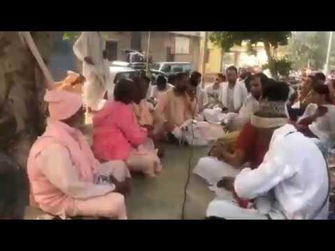 Харинама санкиртана, киртан Шри Уттамы Прабху. Чандра-саровара. 05.11.2018