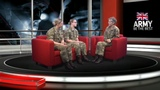 Maj Gen Nesmith chats to Raw Recruits Role models British Army
