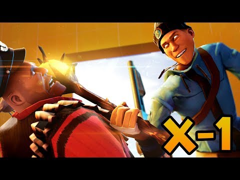 TF2: X-1! Место, Где Худшее Оружие Становится Богоподобным!