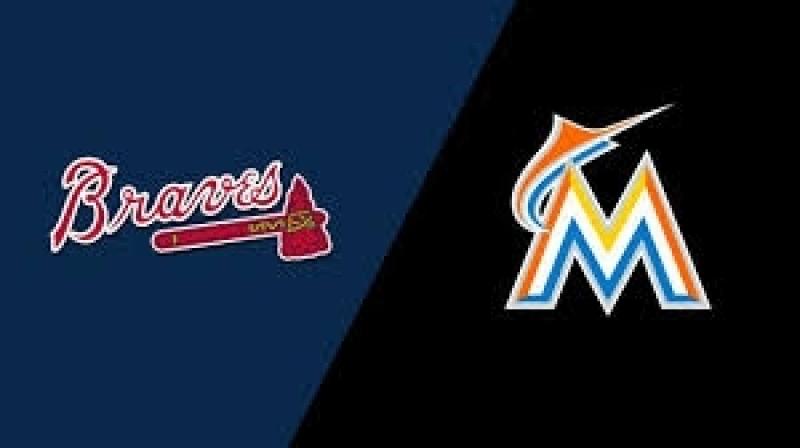 NL / 25.08.18 / ATL Braves @ MIA Marlins (3/4)