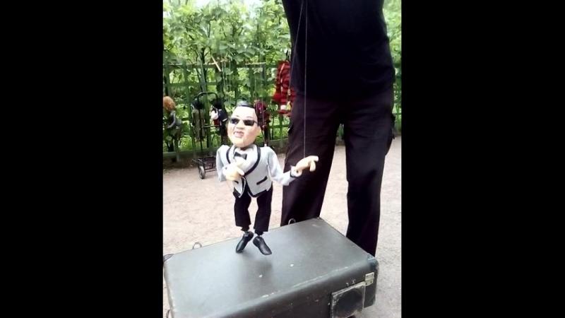 Санкт-Петербург летний сад артист кукол 18 мая 2018