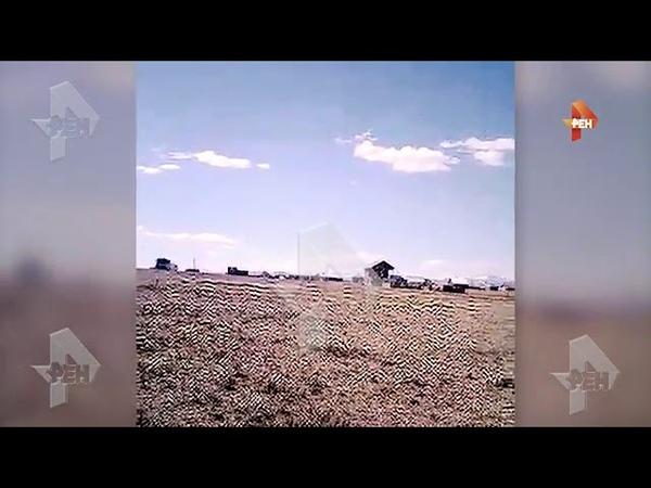 Первое видео с места гибели семи альпинистов в горах на Алтае