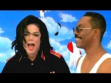 Michael Jackson with Eddie Murphy - Watzup with you