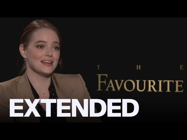 Emma Stone On Jealousy Olivia Colman And 'The Favourite' EXTENDED