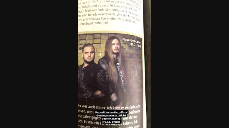 MetalHammer2018 (.U.D.O. The new line up)