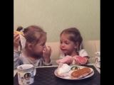 ешь с подругой после шести вечера